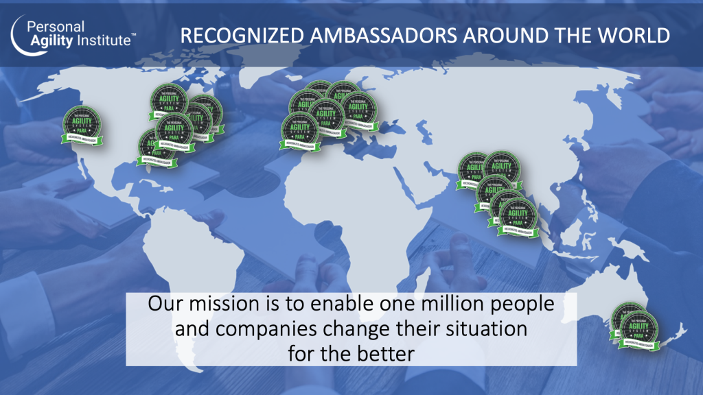 Our mission is to enable one million people and companies change their situation for the better
