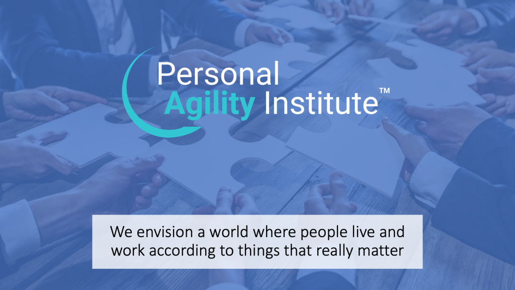 We envision a world where people live and work according to things that really matter